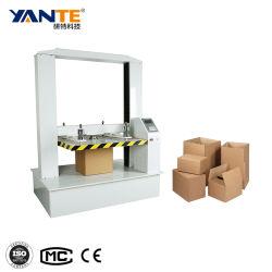 Micro macchina della prova di compressibilità del tester di compressione del contenitore di calcolatore per l'imballaggio della scheda della scatola