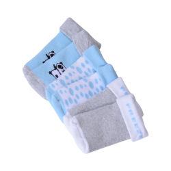 Calzini di nylon dello Spandex di marchio del bambino del cotone respirabile sveglio su ordinazione dell'ammortizzatore