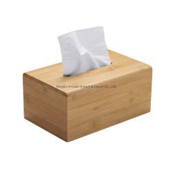 Venda por grosso de tecido Hotel durável de alta qualidade guardanapo de papel na caixa de armazenamento