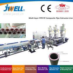 Kunststoffextruder PPR/Pert. Extrusionsleitung der Heißwasserleitung
