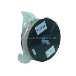 Uso del materiale di materiali di consumo della plastica del filamento 1kg 1.75mm di PLA 3D del filamento per il filamento della stampante 3D