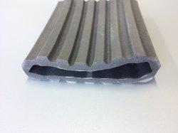 Adaptado de grado alimentario Industrial el tubo de espuma de caucho de silicona