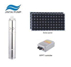 Wechselstrom-und Gleichstrom-versenkbares Wasser-Pumpen-Solarsystem für tägliche Wasserversorgung mit Steuerung