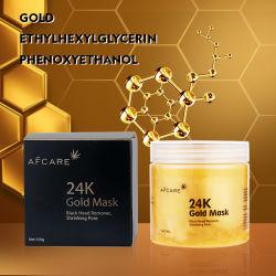 L'anti grinza del contrassegno privato ed il collageno d'idratazione del dispositivo di rimozione di comedone sbucciano fuori la maschera di protezione facciale dell'oro 24K