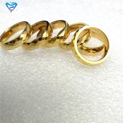 Neuer Ankunfts-Form Jewellry gelbes Goldring-Hartmetall-Stempel