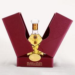 Double personnalisée en usine Firstsail Ouvrir Boîte de vin de l'emballage de cadeaux de luxe