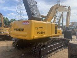 Komatsu excavateur hydraulique200.6 PC utilisé pour le Super Vente Cat325BL Zx210