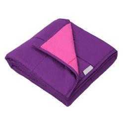Wweighted Blanket 大人のための 100% ポリエステル生地の 20 ポンド