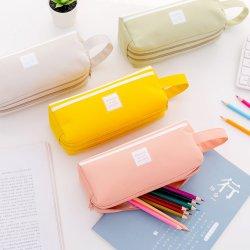 Большая емкость Оксфорд ткань карандашом случаях мешки канцелярские перо чехол поощрения подарки для детей