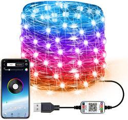Het Controlemechanisme van WiFi telefonisch APP Ver voor de LEIDENE van de Decoratie van de Partij DIY van het Huwelijk van de Keuken van de Slaapkamer van TV Lichten van Stroken