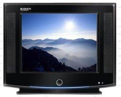 تلفزيون CRT مقاس 14 بوصة مع تلفزيون طراز A6 CRT