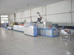 플라스틱 PVC/WPC(PE/PP 우드) 창 데크 프로파일/천장/도어 보드/벽면 패널/모서리 밴딩/판금 돌출 기계 생산 라인