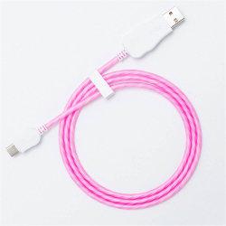Rt-Mc36 светодиодный индикатор виден поток зарядное устройство USB кабель для зарядки для iPhone