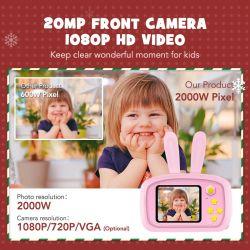 사진기, 비디오 녹화 아이들을%s 붙박이 게임 디지탈 카메라가 선물 2.0 인치 HD 귀여운 동물에 의하여 농담을 한다