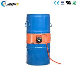 220V 2000W 250*1740の30-150摂氏の機械温度調整の適用範囲が広いシリコーンのドラム油加熱器