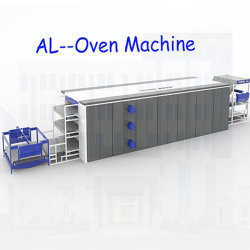 Alwjm---3200mm Pet Textile Soft wading Matters Nonwoven oven Making machine