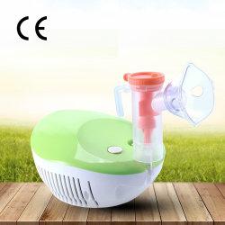 CE와 함께 사용하는 가정용 OEM 로고 압축기 네뷸라이저 머신 네뷸라이저 키트와 성인 소아 원자라이저용 네뷸라이저 마스크