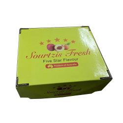 Papier ondulé étagères d'affichage pour l'emballage alimentaire