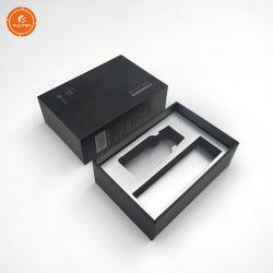 Personalizzare il cassetto i contenitori di regalo che hanno reso personali le caselle cosmetiche nere eleganti di cura di pelle della casella con il cassetto di EVA
