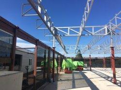 China Behuizing Stalen Structuur Pavilion Dak Met Pir Thermische Isolatie Paneel