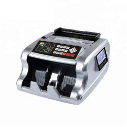 Wt-6700T melhor máquina de contador de notas de contador de dinheiro Bill Contador de valor de USD Euro Rupia Indiana