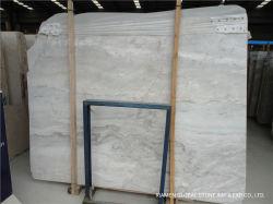 قطع من الحجر الطبيعي باللون الأبيض من الحجر الكريم/البيج مقطعة إلى ألواح الرخام من البلاط من أجل قطع الجدران الداخلية، والمطبخ والحمام