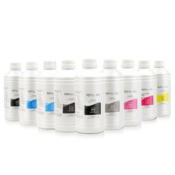 حبر Ocbestjet 1000 مل/زجاجة 8 ألوان صبغي Universal لكل قلم إبسون طابعات PRO 4000 7600 9600