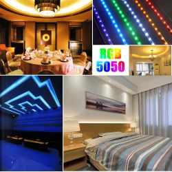 5m 10m 15m de la cinta SMD 2835 de diodos LED DE TIRA flexible de la luz de lámpara