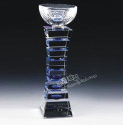 Trofeo de cristal, cristal trofeos, Crystal Award, premios de cristal (CT002)