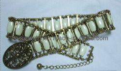 As mulheres Punk trecho Espumantes Lantejoulas grande cinta de Cintura da correia para a cintura