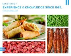 Les aliments surgelés,fruits congelés,fruits IQF,Champignons IQF,Légumes IQF,Légumes IQF,Légumes surgelés,baies,de petits fruits surgelés IQF,Unagi Kabayaki,rouleau de printemps de légumes