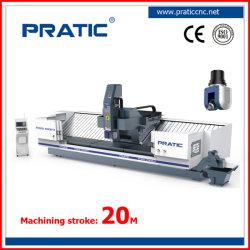 Eixo 5 contínua e simultânea de usinagem CNC Center para processar várias peças da cavidade e Ultra Parede Fina Estrutura de quadro