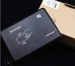 NFC 기능이 있는 MIFARE 13.56MHz USB 리더기