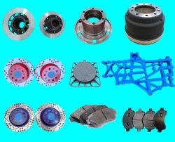 Duktiles Eisen-Graueisen-Sand-Gussteil änderte angestrichene keramischer Bremsen-Scheibenrad-Naben-LKW-Bremsbacke-Bremstrommel-Bremsbelag-Selbstauto-LKW-Ersatzteile