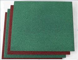 Rubberen anti-schokkende sportvloer/kleurrijke rubberen asfalteermachine
