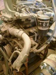 Utilisé Komatsu 4D95le moteur pour chariot élévateur à fourche