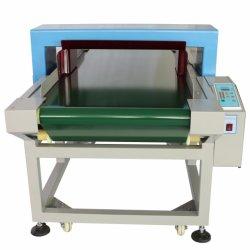 Transportador de cinta transportadora automática de prendas textiles de Metal Detector de agujas