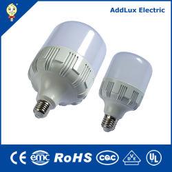 Saso CE UL E27 E40 15W 20W 30W 40W 100W en forma de T LED potentes lámparas industriales fabricados en China para el hogar y de negocios de la iluminación interior