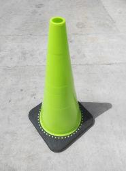 경고 유연한 소통량 콘 교통 안전 소통량 제품