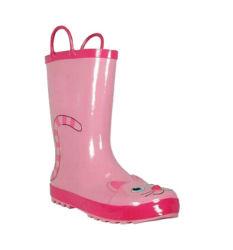 Bonitinha crianças Botas de chuva Kids sapatos de chuva