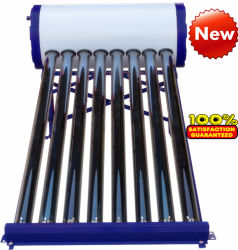 Druckloser Vakuumgefäß-Solarwarmwasserbereiter (Sonnenkollektor)