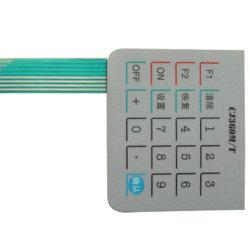 Interrupteur du panneau tactile bouton Overlay pour les pièces électriques