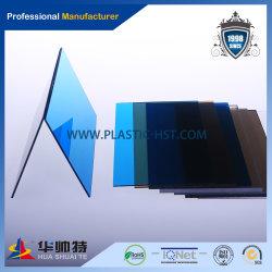 Protection contre les UV de couleur 100% Ge Lexan Feuille de polycarbonate solide