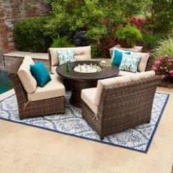 Disposizione dei posti a sedere esterna di alluminio buona di Sunbrella della mobilia di Furnir impostata (WF-1709294)