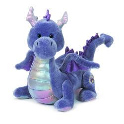 Bébé Dragon animal des jouets en peluche Purple Dragon