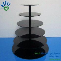 Acrylkuchen-Ausstellungsstand für Partei mit Rohr-Pfosten