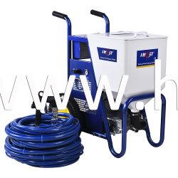 Spruzzatore della vernice di struttura con il compressore d'aria SPA80 senza olio