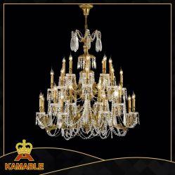 Grand luxe Pyramide de cristal lustre0743-16 Lumière (MD)