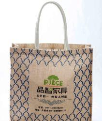 Commerce de gros Vente chaude fourre-tout imprimé personnalisé sac à main des sacs de magasinage de coton (FLA-9723)