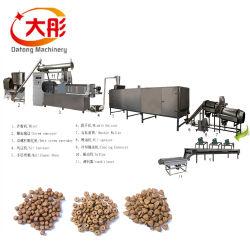 Spuntino animale della pianta della macchina di produzione della pallina dell'alimento vegetale del laminatoio della pallina dell'alimentazione dei pesci del gatto del cane di animale domestico della fabbrica della Cina che elabora la riga dell'espulsione